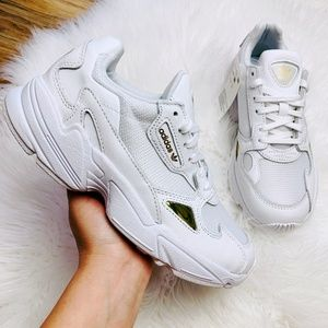 Adidas Originals Falcon Cloud White Gold Metallic
